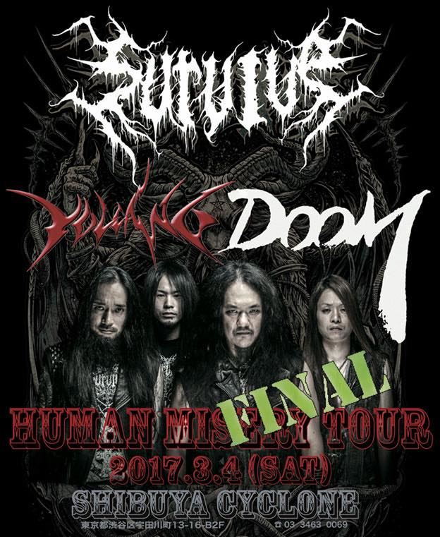 SURVIVE -Human Misery Tour Final-